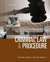 Criminal Law and Procedure | Scheb, John M., Ii |
