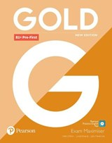 Gold B1+ Pre-First New Edition Exam Maximiser | Lynda Edwards ; Jacky Newbrook ; Helen Chilton |