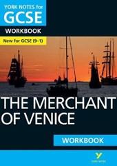 Merchant of Venice: York Notes for GCSE (9-1) Workbook