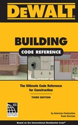 Dewalt Building Code Reference | American Contractor's Exam Services |