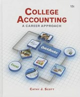 College Accounting + QuickBooks Accountant | Cathy J. Scott |