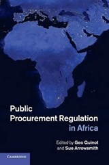 Public Procurement Regulation in Africa | Geo Quinot |