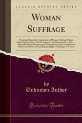 Woman Suffrage | Unknown Author |