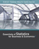 Essentials of Statistics for Business & Economics | David R. Anderson |