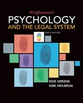 Wrightsman's Psychology and the Legal System | Greene, Edith ; Heilbrun, Kirk |