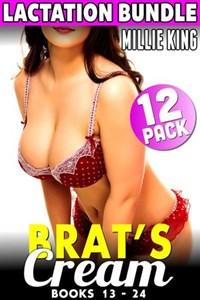Brat's Cream - Lactation Bundle - Books 13 - 24 (Lactation Erotica Milking Erotica BDSM Erotica Adult Nursing Erotica Hucow Erotica) | Millie King |