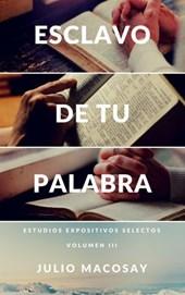 Esclavo de tu Palabra — Volumen III: Meditando a través del Antiguo Testamento