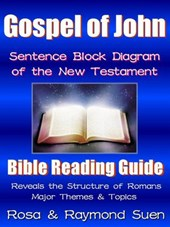 Gospel of John - Sentence Block Diagram Method of the New Testament (Bible Reading Guide)
