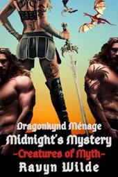 Midnight's Mystery: Dragonkynd Ménage (Creatures of Myth, #7)