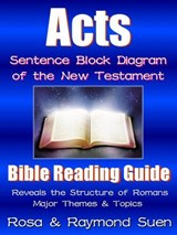 Acts   - Sentence Block Diagram Method of the New Testament (Bible Reading Guide, #1) | Raymond Suen |