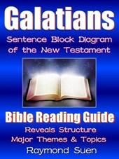 Galatians - Sentence Block Diagram Method of the New Testament (Bible Reading Guide, #9)
