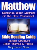 Matthew - Bible Reading Guide with Sentence Block Diagram - Structure & Theme | Raymond Suen |