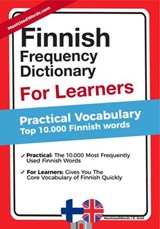 Finnish Frequency Dictionary for Learners - Practical Vocabulary - Top 10000 Finnish Words | MostUsedWords ; E. Kool |