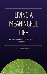 Living a Meaningful Life | Tosin Olufeyimi |