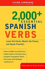 2000+ Essential Spanish Verbs | Living Language |
