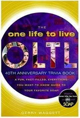 The One Life to Live, Trivia Book | Gerry Waggett |