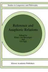 Reference and Anaphoric Relations | auteur onbekend |