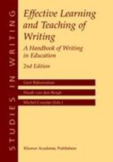 Effective Learning and Teaching of Writing | auteur onbekend |