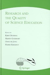 Research and the Quality of Science Education | auteur onbekend |
