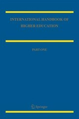 International Handbook of Higher Education | auteur onbekend |