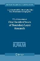 IUTAM Symposium on One Hundred Years of Boundary Layer Research |  |
