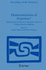 Democratization of Expertise? | auteur onbekend |