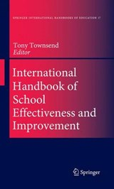 International Handbook of School Effectiveness and Improvement | auteur onbekend |