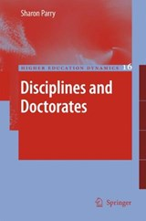 Disciplines and Doctorates | Sharon Parry |