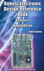 Robust Electronic Design Reference Book | John R. Barnes |