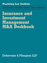 Insurance and Investment Management M&A Deskbook |  |