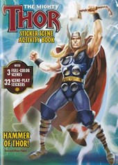 The Mighty Thor Sticker Scene Activity Book