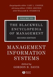 Blackwell Encyclopedia of Management | Gordon B Davis |