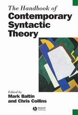 The Handbook of Contemporary Syntactic Theory | Mark Baltin |