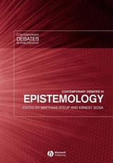 Contemporary Debates in Epistemology | Matthias Steup |