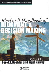 Blackwell Handbook of Judgment and Decision Making | Derek J. Koehler |