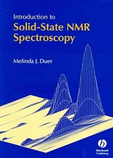 Introduction to Solid-State NMR Spectroscopy | Melinda J. ; Duer Duer |