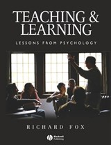 Teaching and Learning | Richard Fox |