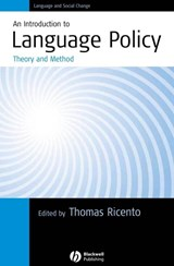 Introduction to Language Policy | Thomas Ricento |