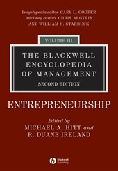 The Blackwell Encyclopedia of Management | Michael A. Hitt |