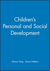 Children's Personal and Social Development