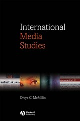 International Media Studies | Divya C. Mcmillin |