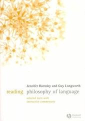 Reading Philosophy of Language | Jennifer Hornsby |