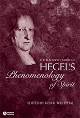 The Blackwell Guide to Hegel's Phenomenology of Spirit | Kenneth R. Westphal |
