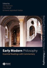 Early Modern Philosophy | A. P. Martinich |