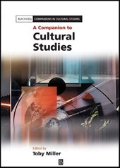 A Companion to Cultural Studies | Toby Miller |