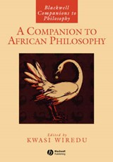 A Companion to African Philosophy | Kwasi Wiredu |