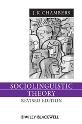 Sociolinguistic Theory | J. K. Chambers |