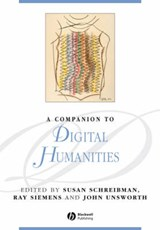 A Companion to Digital Humanities | Susan Schreibman |
