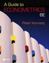 A Guide to Econometrics | Peter Kennedy |