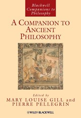 A Companion to Ancient Philosophy | M.L. Gill & P. Pellegrin |